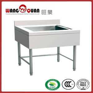 European Style Stainless Steel Sink with Single Bowl pictures & photos
