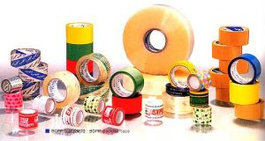 Machine Roll Adhesive Packing BOPP Tape Colored, Easy Tear, Low Noise