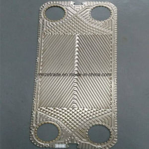 Stainless Steel Plates for Gasketed Plate Heat Exchanger Spare Parts Alfa Laval pictures & photos