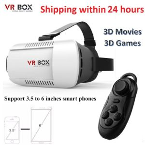 "Vr Box 2.0 Version Vr Glasses Google Cardboard for 3.5"" - 6.0"" Smart Phone+ 8GB 3D Games and Movies with Package pictures & photos"