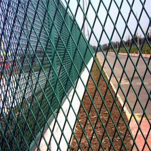 Coated Expanded Metal Mesh Panel pictures & photos