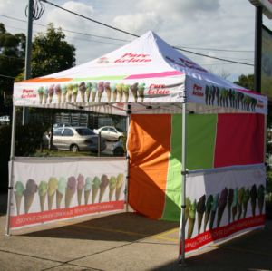 3X3m Outdoor Trade Show Tent with Dye Sublimation Printing pictures & photos