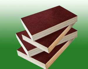 Recycled Film Faced Plywood/Shuttering Plywood 18mm pictures & photos