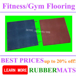 Shockproof Home Gym Flooring Mats pictures & photos