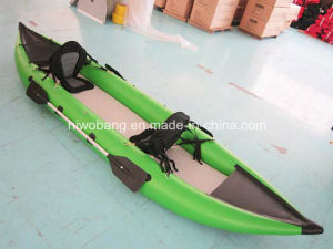 PVC Inflatable Air 2 Person Kayak pictures & photos