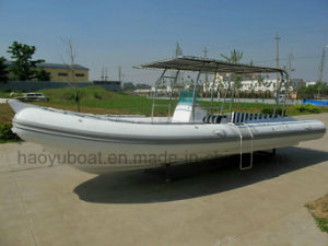 25feet Inflatable Rib730b Boat, Rescure Boat, Fishing Boat, Rigid Hull Boat, Hypalon pictures & photos