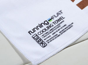 Customized White Hot Sale Sublimation Printing Dry Fit Advertising Microfiber Towel pictures & photos