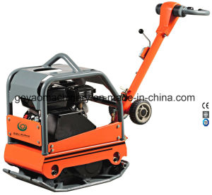 Walk Behind Gasolinel Concrete Vibratory Reversible Plate Compactor with Honda Engine Gyp-40 pictures & photos