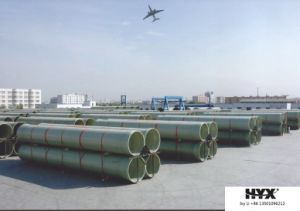 FRP Sand Filling Pipes Used at Beach Sea or River pictures & photos