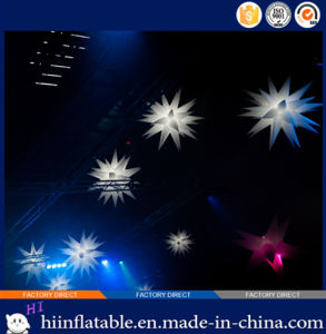 Colorful Event LED Lighting Ceiling Decoration Inflatable Star 034 pictures & photos