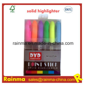 Multifunction Point Stick Solid Highlighter Pen pictures & photos