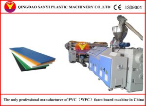 PVC Foaming Board Line Machine/Plastic Sheet Making Machine/PVC Foam Board Line pictures & photos