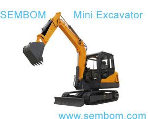 Multifunction Mini Excavator 6ton (SE60) for Farming, Civic Building, Gardening pictures & photos