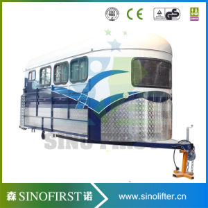 High Quality China 3 Horses Angle Load Horse Floats Trailer pictures & photos