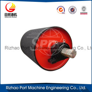SPD Industrial Rubber Lagging Belt Conveyor Pulley pictures & photos