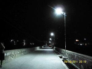 Integrated Solar LED Street Lighting 30W LED 60W PV (SNSTY-230) pictures & photos