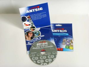 Colorful Printed Custom Hang Tag Mini CD DVD (CDP-007) pictures & photos
