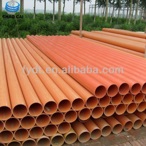 Cheap Price Export Dn100mm Thin Wall PVC Pipe