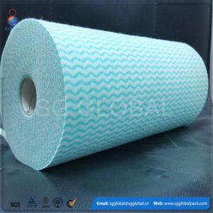 Absorbent Spunlace Nonwoven Fabric for Wet Wipes pictures & photos