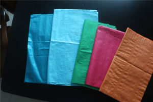 PP Woven Bags Are Used in Packaging Rice, Flour, Ice, Fertilizer, Feed pictures & photos
