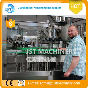 Automatic Glass Bottle Beer Filling Line pictures & photos