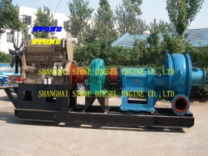 Amphibious Sand Pump for Both Ship and Land 600 to 8000 M3/H Capacity pictures & photos