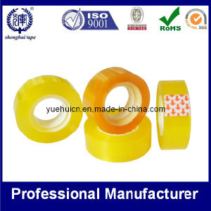 Yellowish Stationery Tape for Office Using ISO SGS Approved pictures & photos