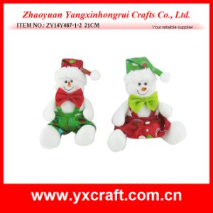 Christmas Decoration (ZY14Y487-1-2) Christmas Snowman pictures & photos