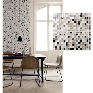 Decor Maxed Stainless Steel Metal Mosaic pictures & photos