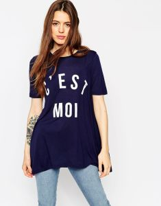 OEM Women′s Fashion Custom Logo Round Neck Printed T-Shirt (XY032) pictures & photos