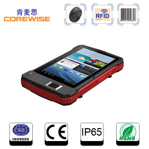 Industrial Handheld GPRS/GPS Android Bluetooth Tablet PC with RFID and Fingerprint (A370) pictures & photos