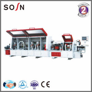 Full Auto Edge Banding Machine with Premilling&Corner Rounding Function (SE-450DJ) pictures & photos