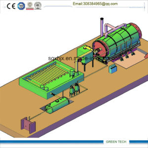 Pyrolysis Oil to Diesel Recycling Machine 10tpd Distiller pictures & photos