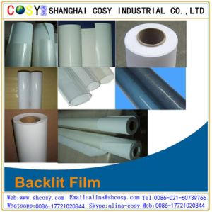 Pet Backlit Film for Eco-Sovent Printing with High Quality pictures & photos