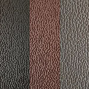 SGS Gold Certification Z055 Automotive Leather Upholstery Leather Steering Wheel Cover Leather Artificial PVC Leather pictures & photos