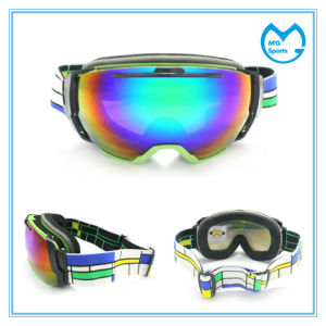 Revo Coated PC Lens Sports Glasses Anti Fog Snow Goggles pictures & photos