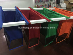 Canvas Material and Trolley Style Supermarket Trolley Bag pictures & photos