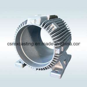 Cast Iron/Aluminium Motor Housing for Single Phase Motor pictures & photos