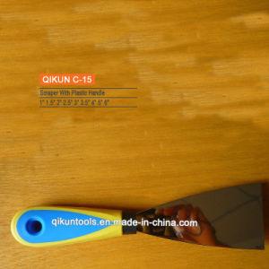 C-12 Double Color Plastic Handle Scraper pictures & photos