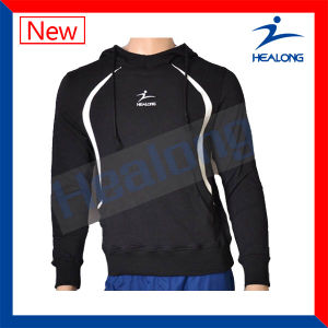 Healong Customized Cut and Sew Hoodie with Quality pictures & photos