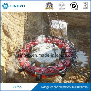 SPA5 concrete cutter round square 12 modules pile preaker pictures & photos
