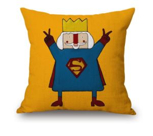 Specifical Design Fashionable Printed Cotton Cushion pictures & photos