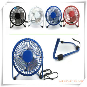 4 Inch Metal Mini Fan for Promotion pictures & photos