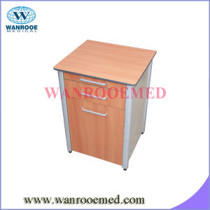 Bc010b Hospital Wooden Bed Side Locker with Sliding Dining Table pictures & photos