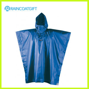 Unisex Durable Recyclable Waterproof Polyester Rain Poncho pictures & photos