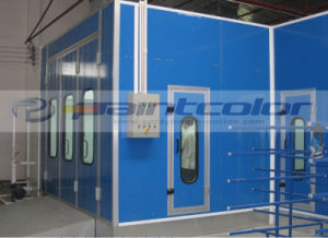 Linking Water Curtain Paint Oven Booth pictures & photos