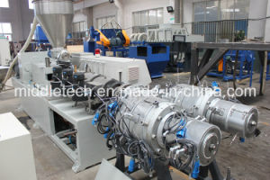 PVC/UPVC Two Cavities Pipe Production and Extrusion Line pictures & photos