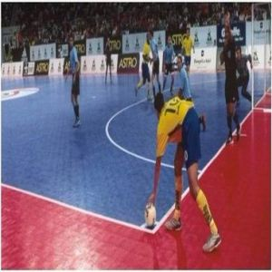 Polypropylene Interlock Floor for Outdoor Sports Courts (PVC003) pictures & photos