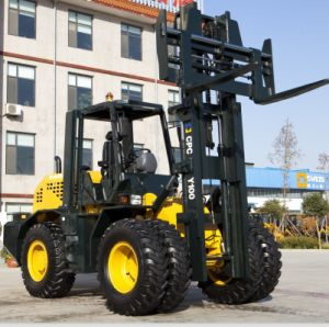 10 Ton off Road Forklift (XCPCY100) pictures & photos