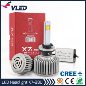 CREE 880 First Created Aftermarket 3600lm X7 Auto LED Headlight pictures & photos